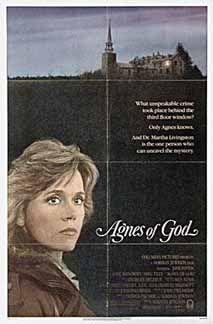 Posteritati: AGNES OF GOD 1985 U.S. 1 sheet (27x41)