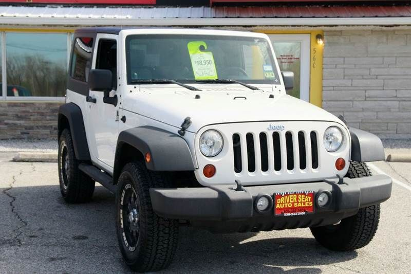2010 Jeep Wrangler 4x4 Sport 2dr SUV **FOR SALE** By