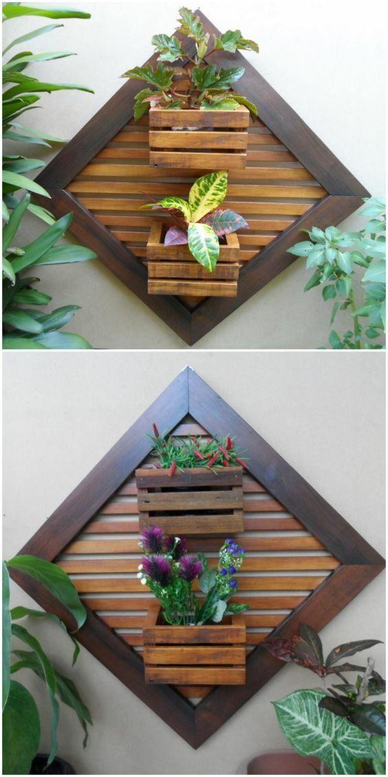Домашний сад на стене