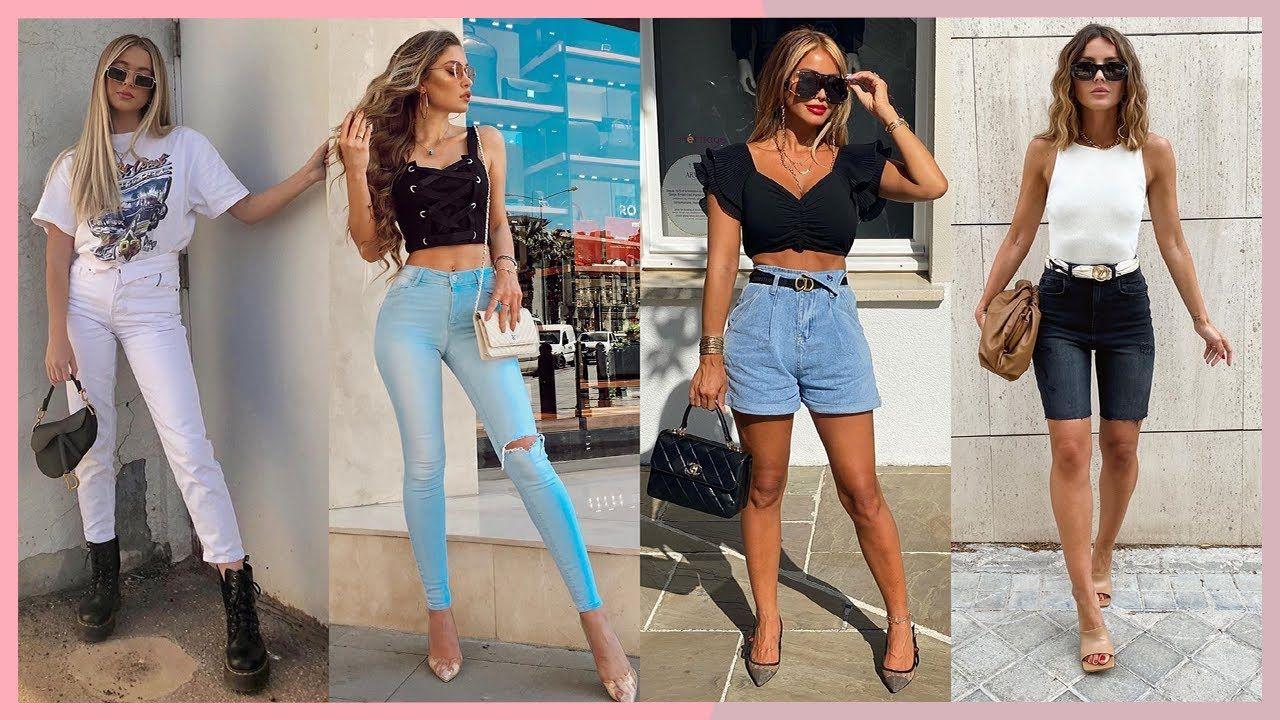 Outfits 2020 Para Cada Tipo De Cuerpo Moda Primavera Verano Mujer Juve Moda Primavera Verano Moda Moda Primavera