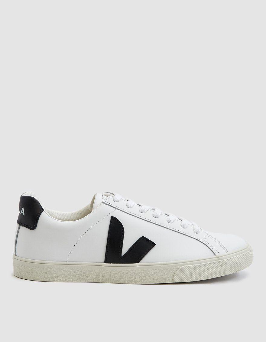 Veja Esplar Logo Leather Sneaker In