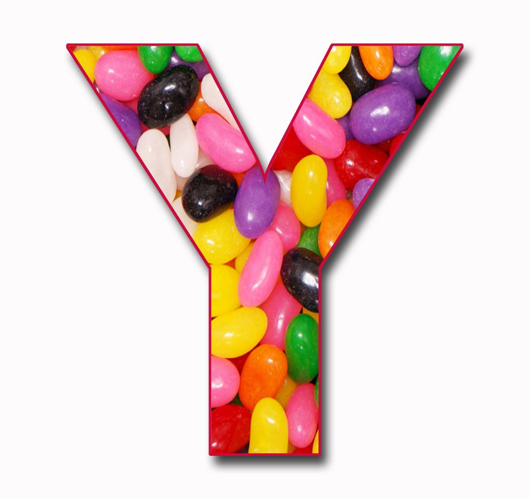 The letter y why jelly beans because we love them kids more the letter y why jelly beans because we love them altavistaventures Choice Image