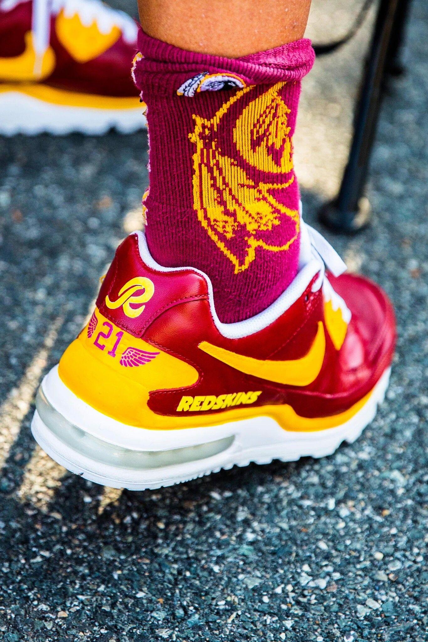 Washington redskins image by Richard Tauteoli Nike shoes