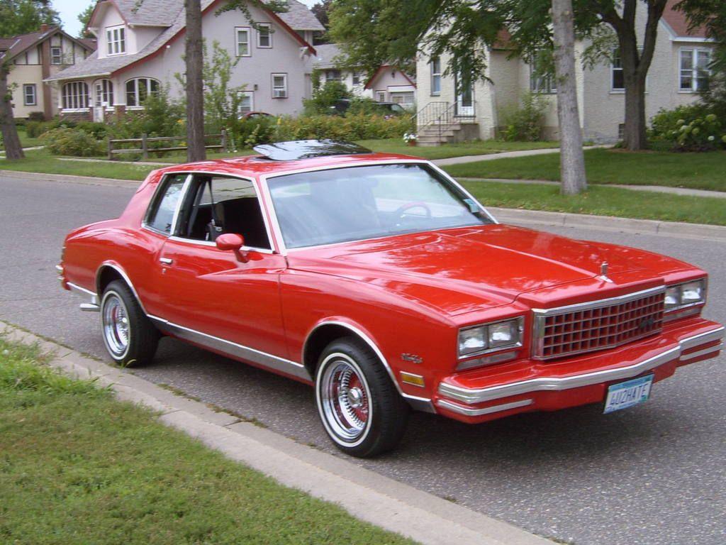 1980 Chevrolet Monte Carlo Chevrolet Monte Carlo Monte Carlo Chevrolet