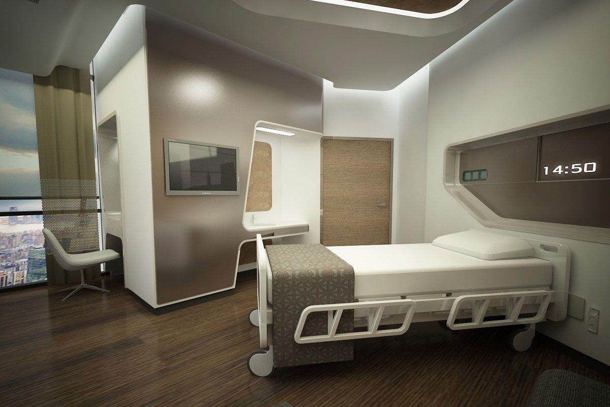 Liv hospital ankara render su t hasta odasi for Chambre hopital design