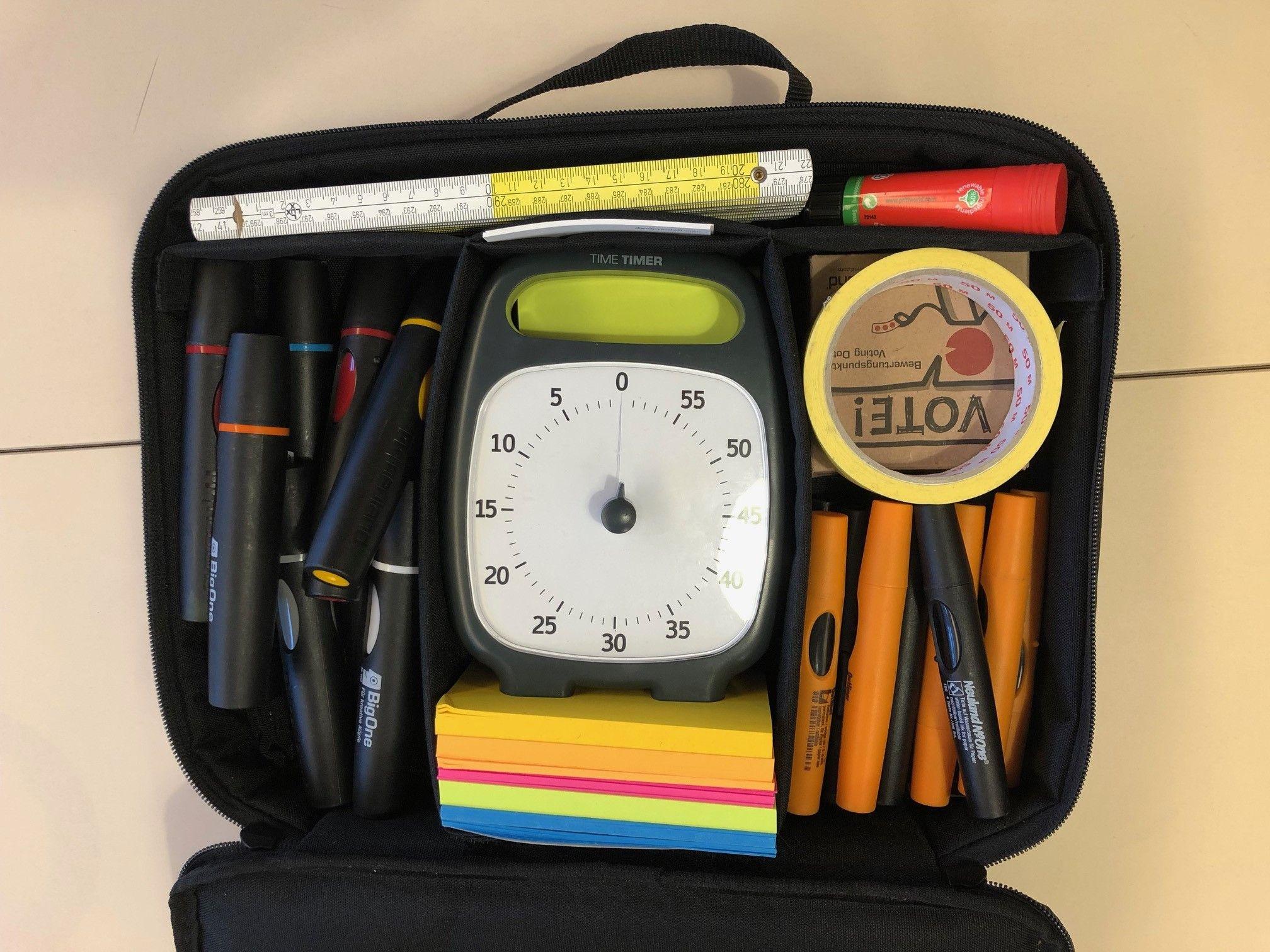 Moderationstasche Jeans Tasche Taschen Klassenzimmer