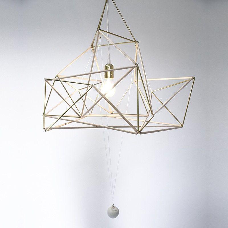 Suspension Golden Drop design Nicolas Brevers GOBO