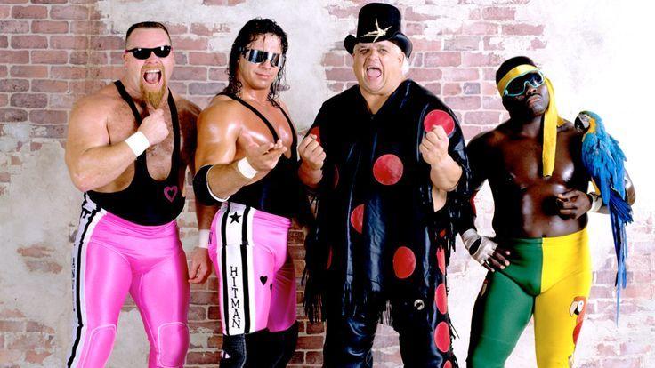 The Hart Foundation, Dusty Rhodes, and Koko B Ware Wwf