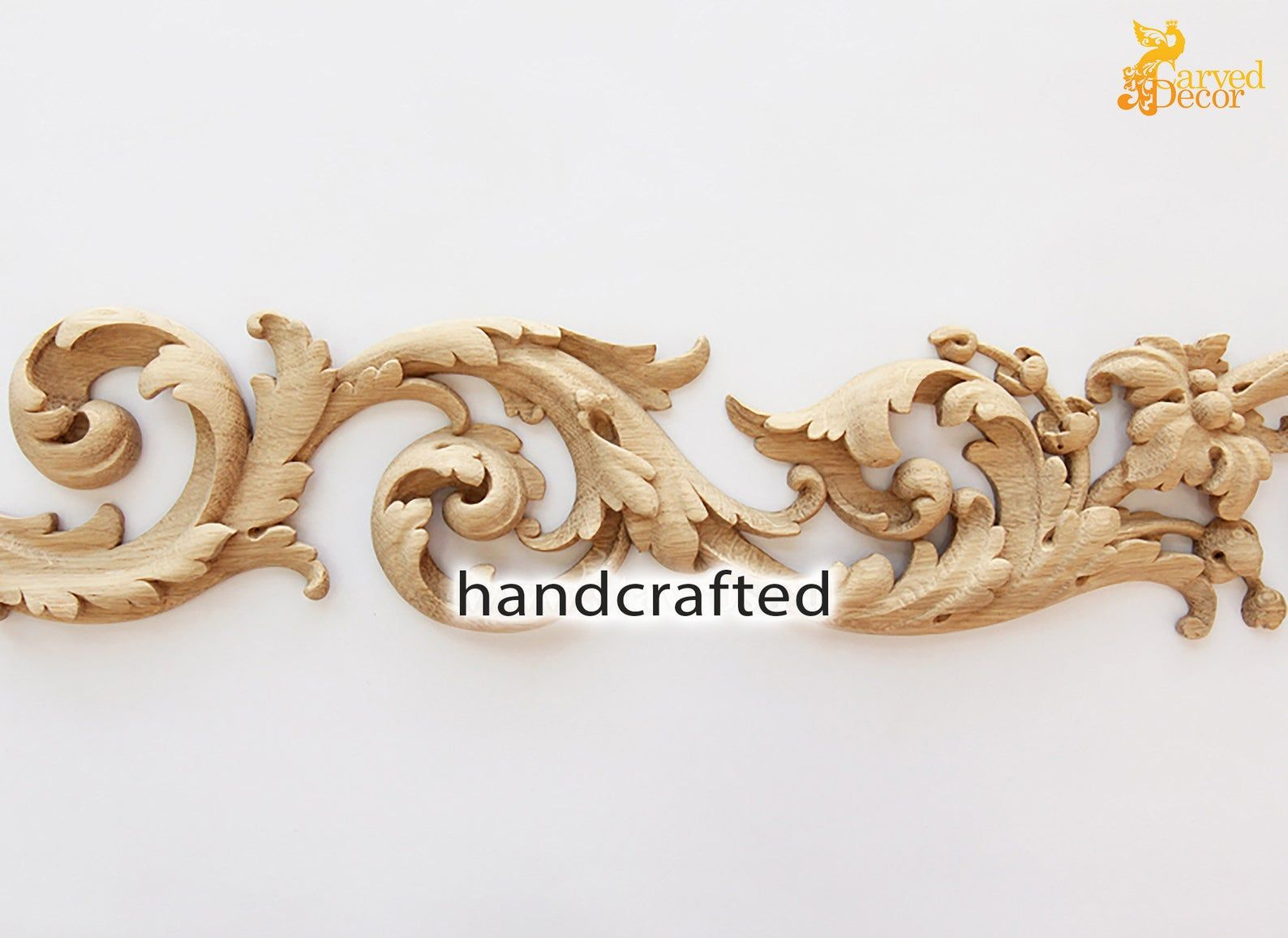 Unique Appliques For Doors For Kitchen Cabinets 10 Meters Etsy In 2020 Unique Applique Wood Decor Kitchen Cabinets