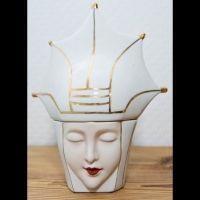 Very Rare Original Robj Bonbonniere Candy Jars French Art Deco - Queen