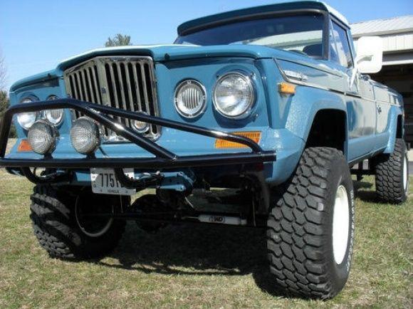 1971 jeep j4000 gladiator 4x4 pickup truck for sale restored front overland pinterest. Black Bedroom Furniture Sets. Home Design Ideas