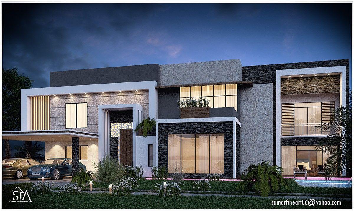 Awesome Photo Facade Villa Moderne Images Amazing House Design