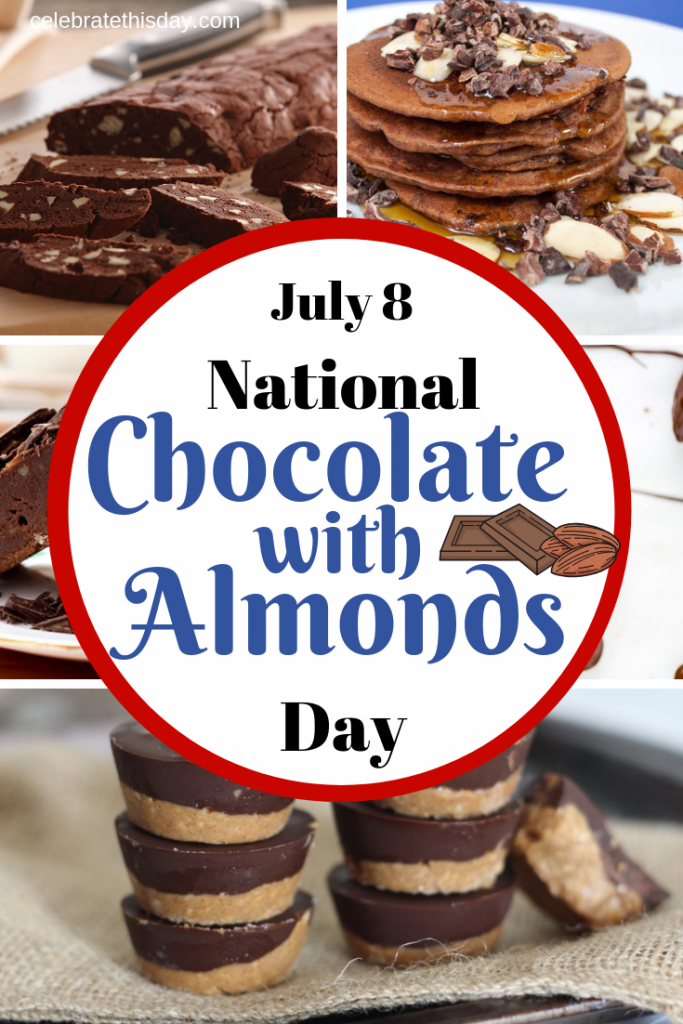 National Chocolate With Almonds Day Chocolate Almonds Clusters Buttercrunch Toffee Almond