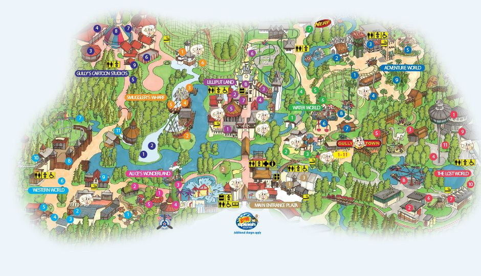 gullivers world theme park warrington theme park design. Black Bedroom Furniture Sets. Home Design Ideas