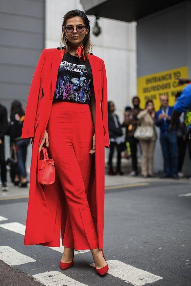 7fd32a04053 London Fashion Week SS17 Street Style  Day 4