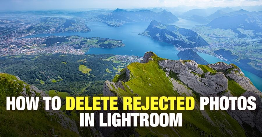 Delete rejected photos lightroom