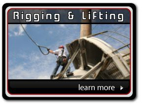 Rigging & Lifting Demo #rope_access_services #industrial_chimney_services