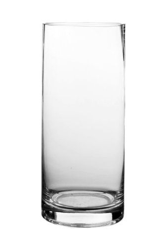 9 Cylinder Vase Clear Glass 12pk Modern Vase Gifthttpwww