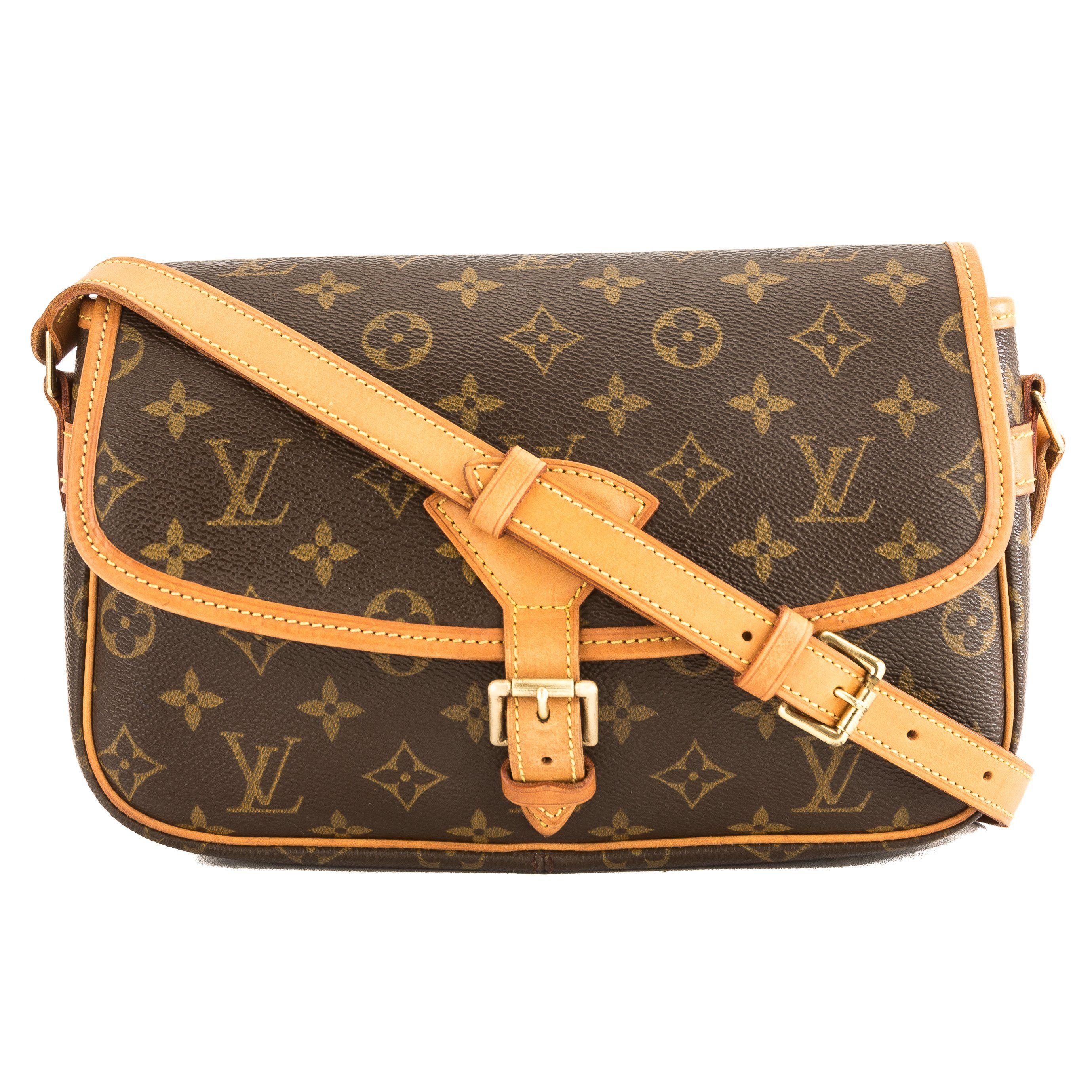 96018a453df Shop Louis Vuitton Monogram Canvas Sologne Bag (Pre Owned) - 3870002 ...