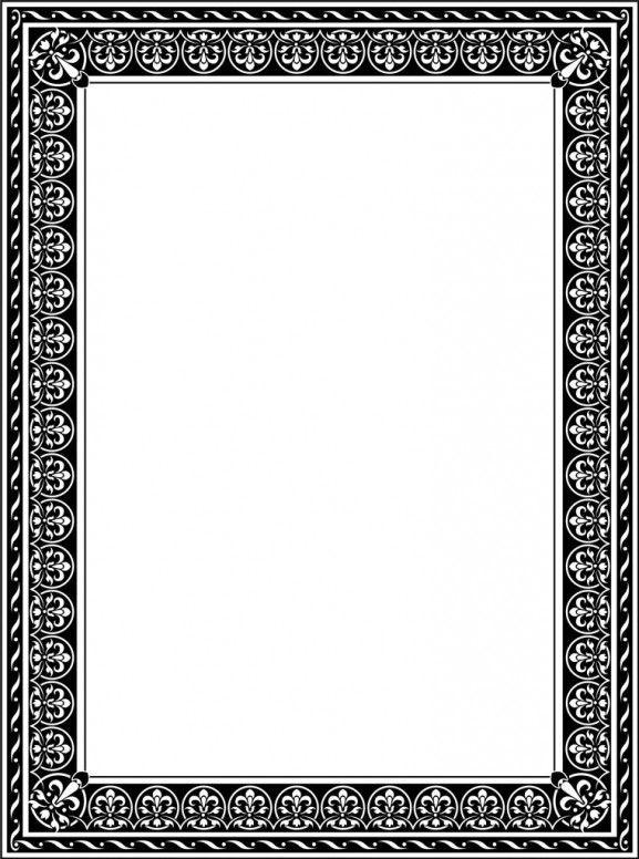 Download File Desain Frame Border Berformat Vector Bingkai Seni Aplikasi