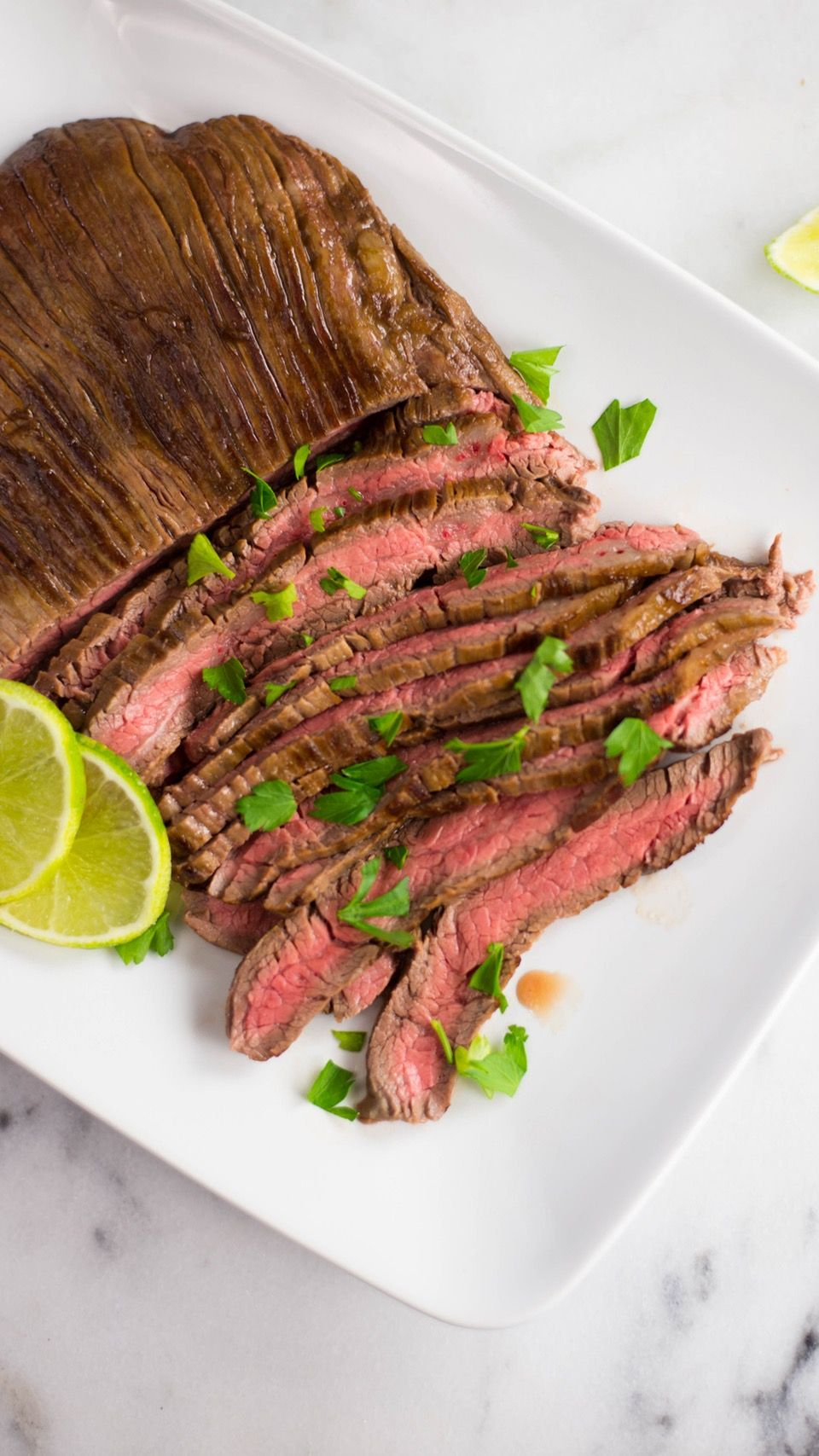 You put the lime in the coconut milk and grill it all up! This delicious Thai-inspired skirt steak is a guaranteed crowd-pleaser.