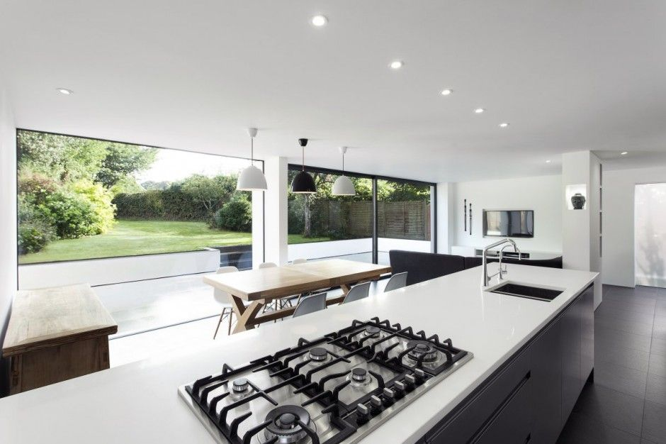 Glass and Timber Addition to a 1950′s Hampshire House by AR Design ...