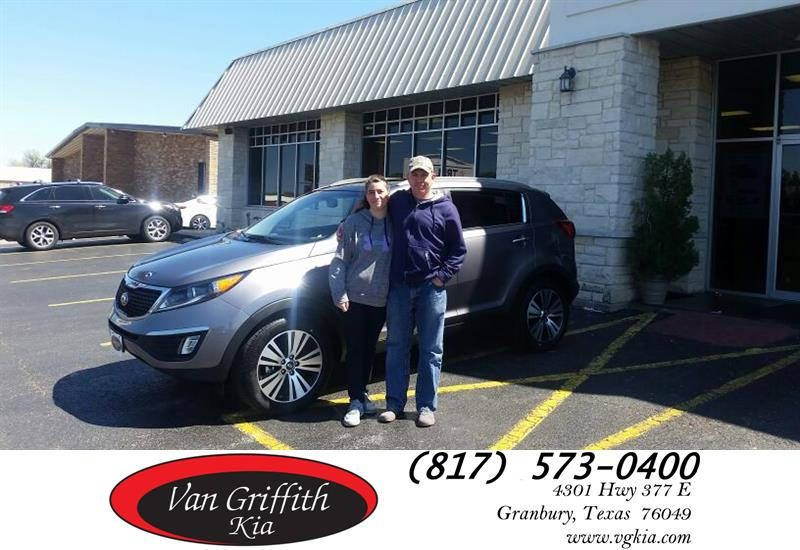 Congratulations Kyle And Michelle On Your Kia Sportage From Jay