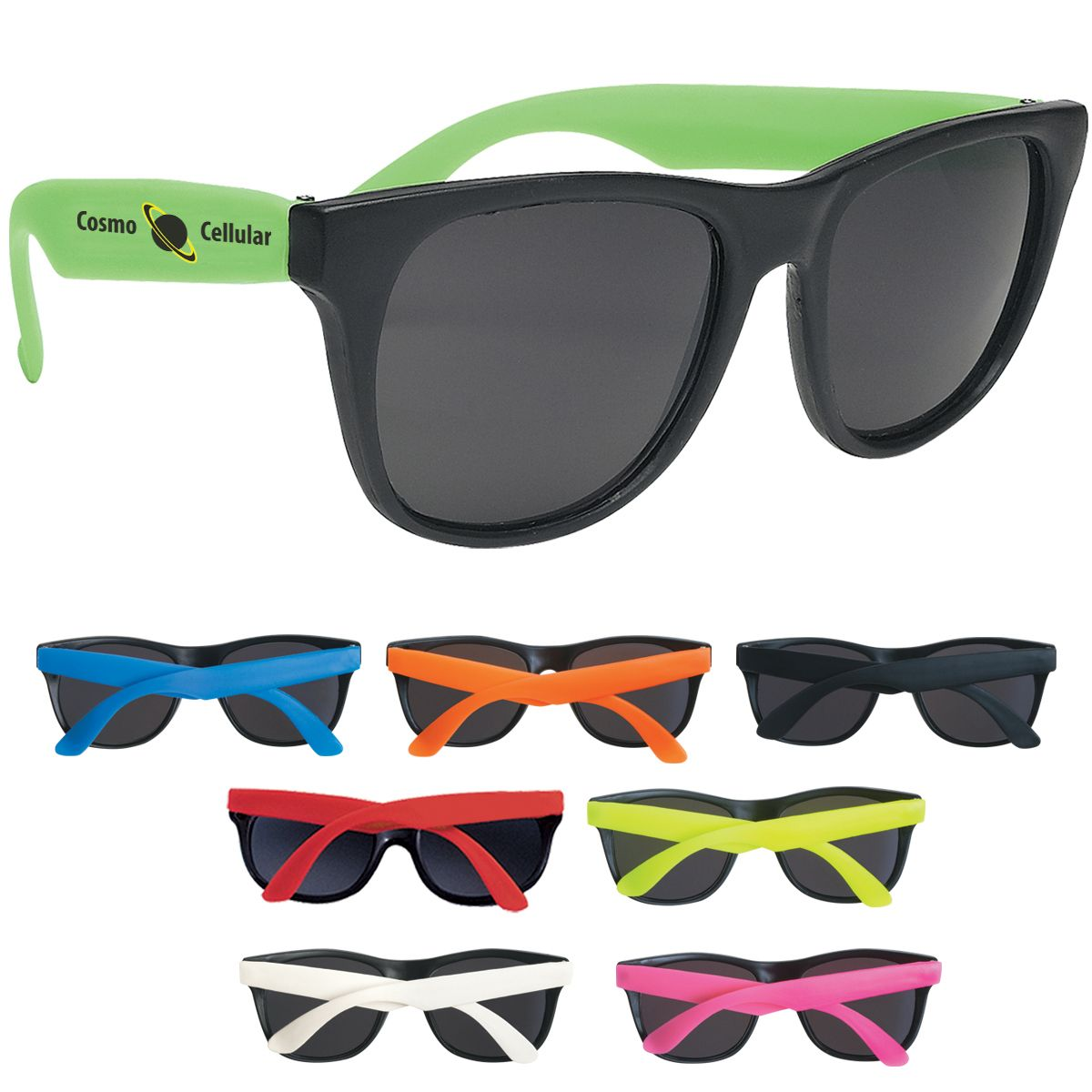 Hot retro customized sunglasses for your wedding guests ...