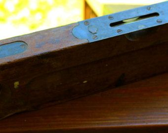 Antique Stanley Level No 3 Vintage Level Primitive Tools Collectible