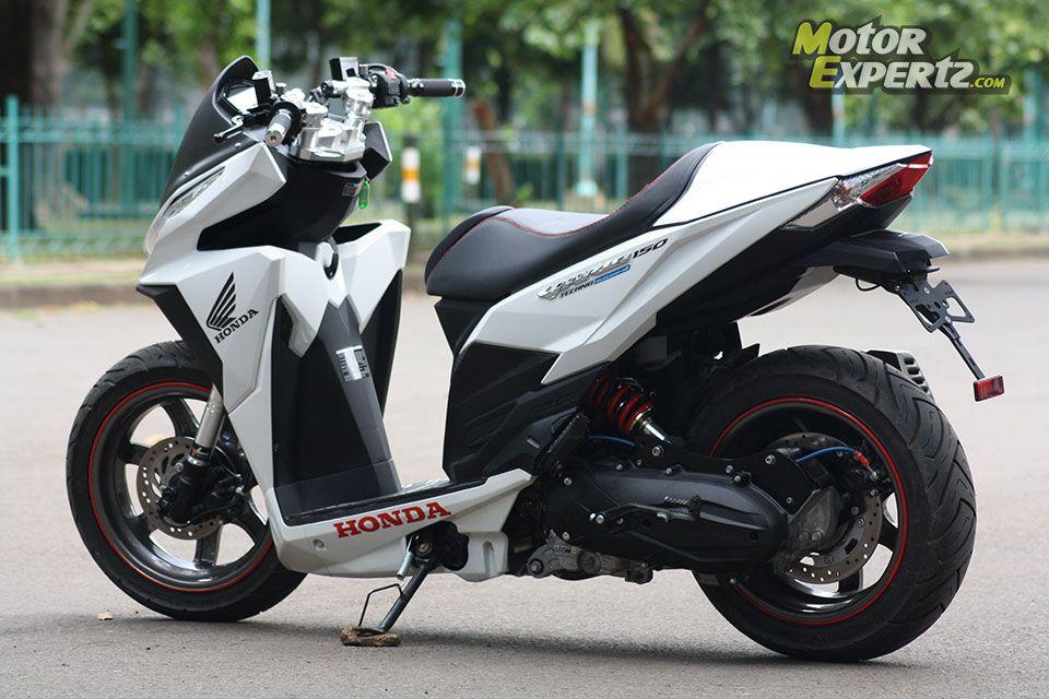 modifikasi motor honda vario 150cc terkeren