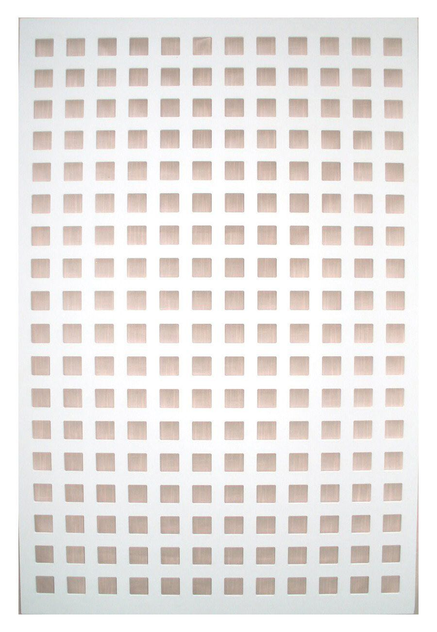Amazon Com Acurio Square White Vinyl Lattice Decorative
