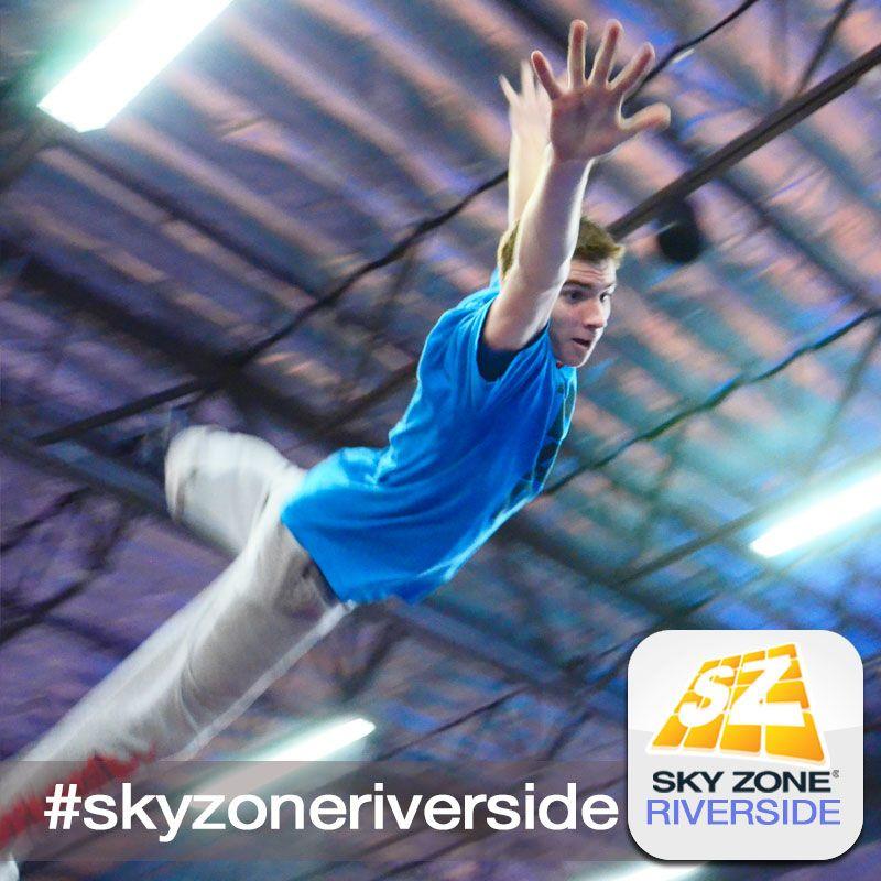 Air Time! #skyzonecoronariverside #skyzone #fun #jump #corona #riverside #