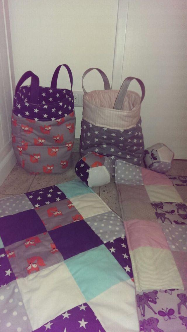 Babydecke, Baby Spielzeugverstecker, Babyball von Mikasa (erhältlich bei www.awanda.de)   Baby blanket, baby ball, toy box, toy bag, toy hider   (Shop @ www.dawanda.de from Mikasa )