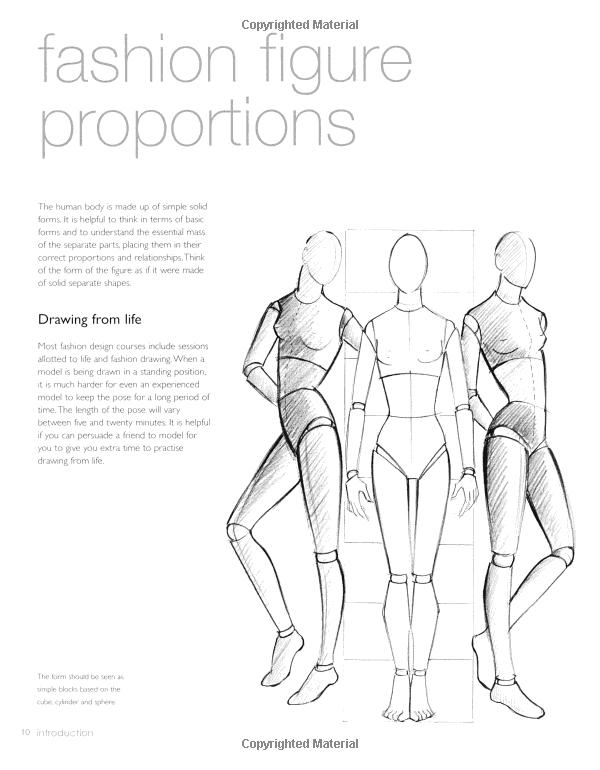 New Fashion Figure Templates - m 66