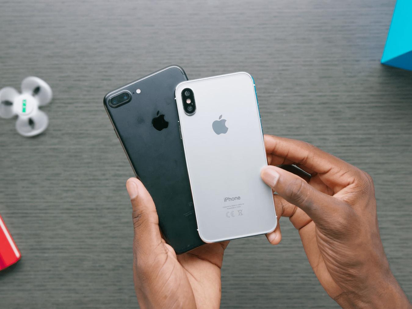 Unlocked Original Apple iPhone 8 Plus 4G LTE Cell phones 3GB