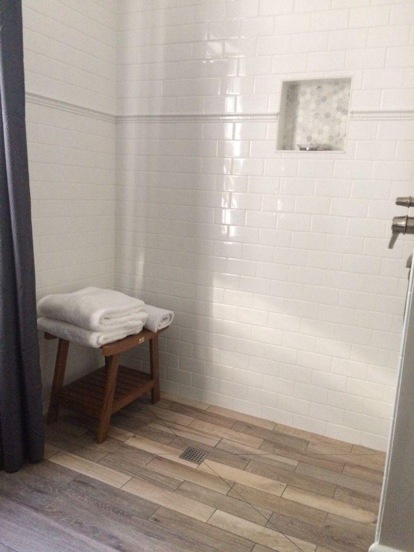 Wood Floor Bathroom Pictures In 2020 Wood Floor Bathroom Wood Tile Bathroom Floor Flooring