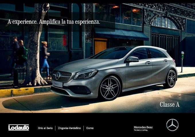#Designsportivo, #interniprestigiosi ed #equipaggiamentiesclusivi. Gli ingredienti che fanno della #MercedesBenz #ClasseA un'auto di nuova generazione. Vieni a scoprirla presso una delle nostre sedi Lodauto Spa.