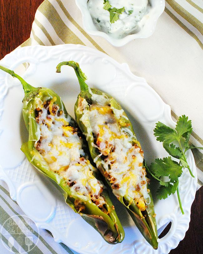 Stuffed Hatch Chiles From Like Mother Like Daughter Favorite