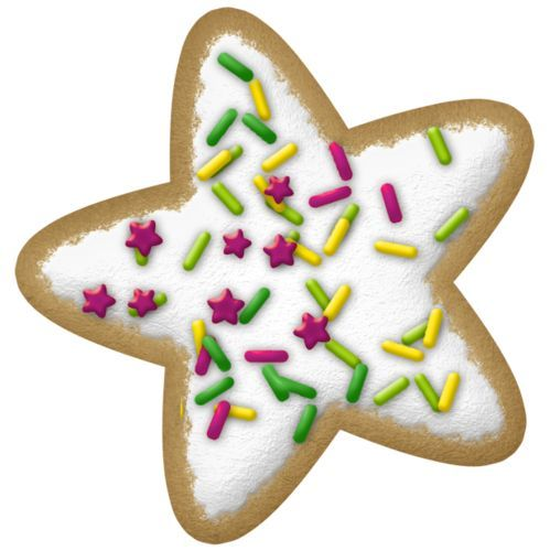 Cookie Clip Art Christmas Holiday Sugar Cookies Clipart Christmas