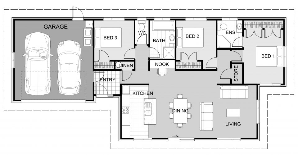 Kiwi Signature Homes House Plans Best House Plans Tiny House Plans
