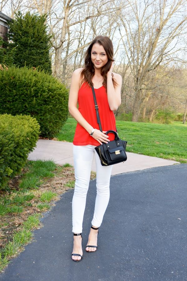 April Remix: White Jeans