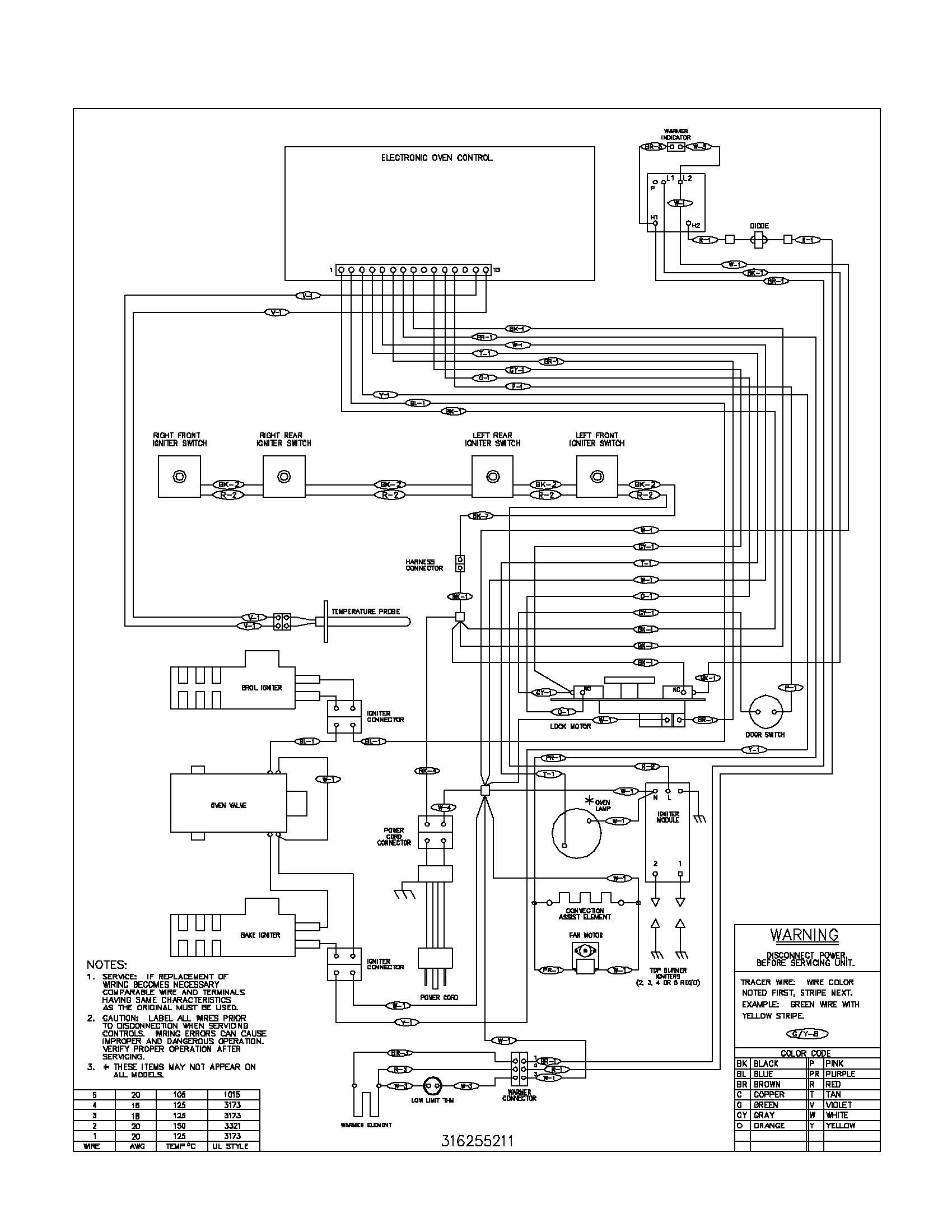 Unique Wiring Diagram For Electric Stove Outlet Diagram