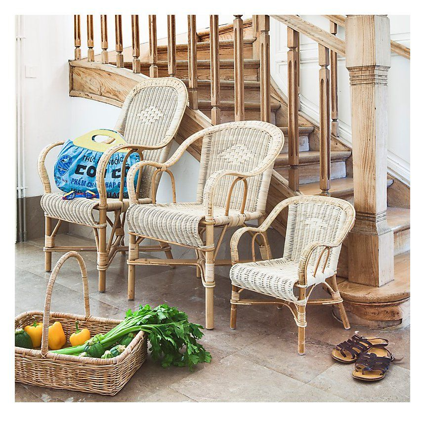 Fauteuil Grand Pere En Rotin Haut Dossier Pas Cher Prix Fauteuil De Jardin Camif 185 00 Ttc Fauteuilenroti Outdoor Furniture Sets Furniture Outdoor Chairs