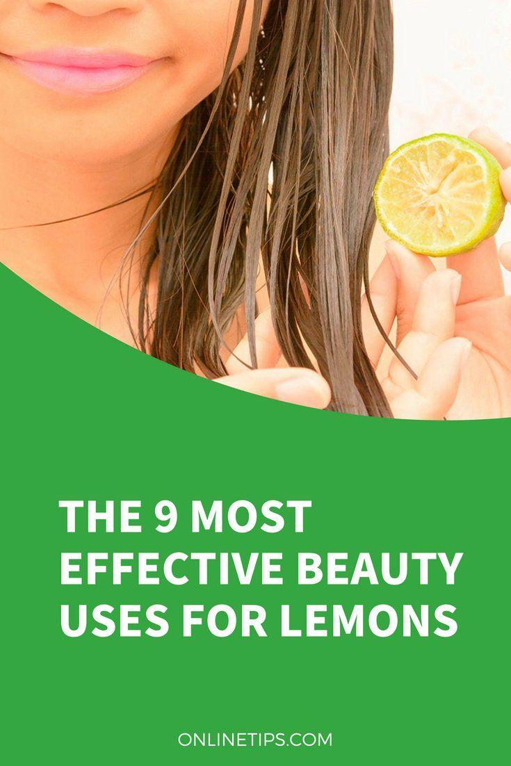 lemon for Medicinal importance treatment of facial