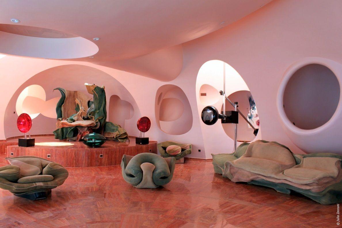 palais bulles de pierre cardin th oules sur mer 1984. Black Bedroom Furniture Sets. Home Design Ideas