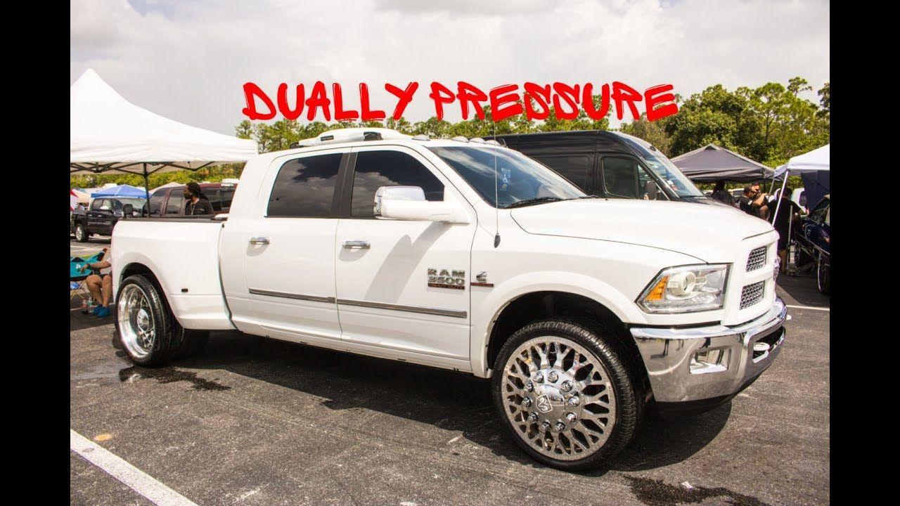 Duallypressure Dodge Ram 3500 Dually On Big Rims In Hd Near 94147