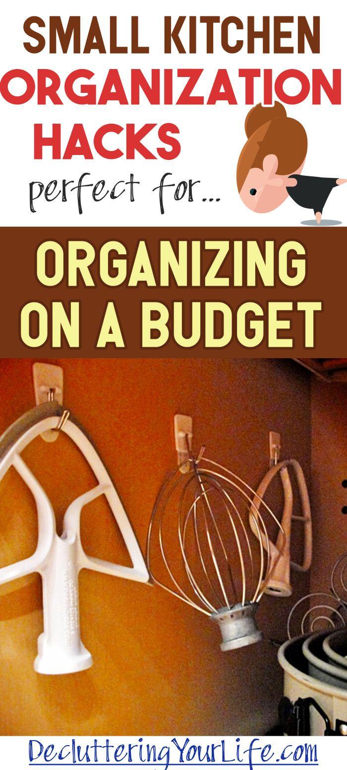 Small Kitchen Storage Ideas - Clever DIY Kitchen Organization Ideas on a Budget