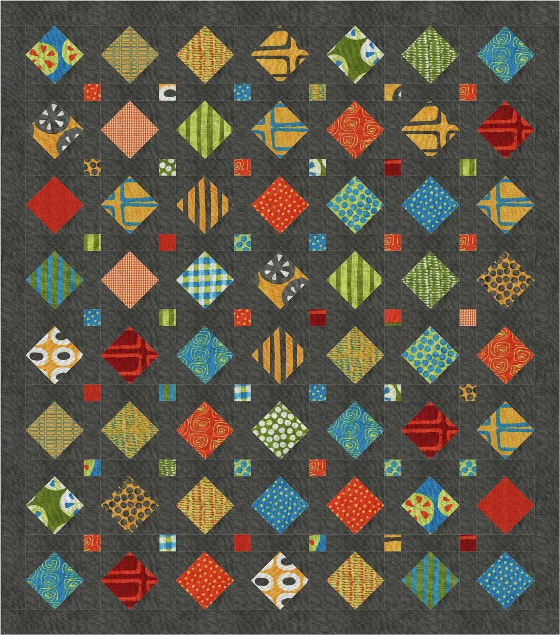 Treasures Multiple Sizes Pdf Charm Quilt Pattern Quilts