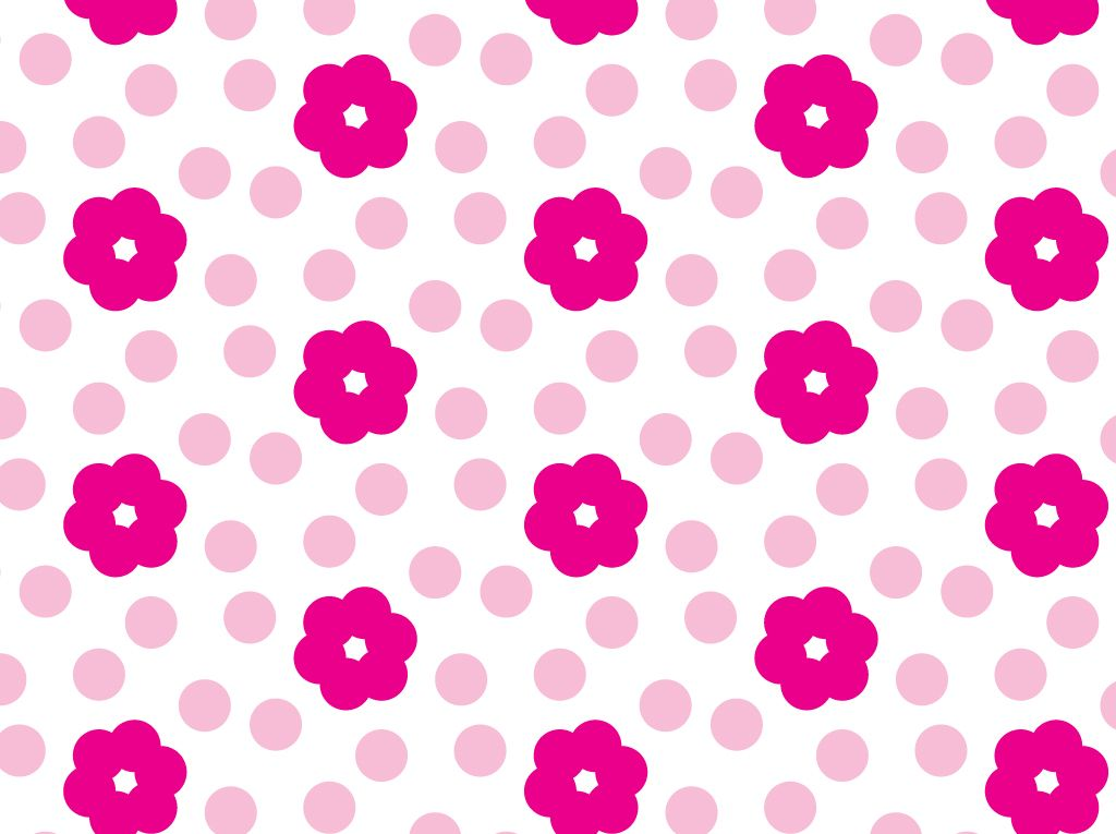 Pink Floral Flower Pattern Beautiful amp Adorable