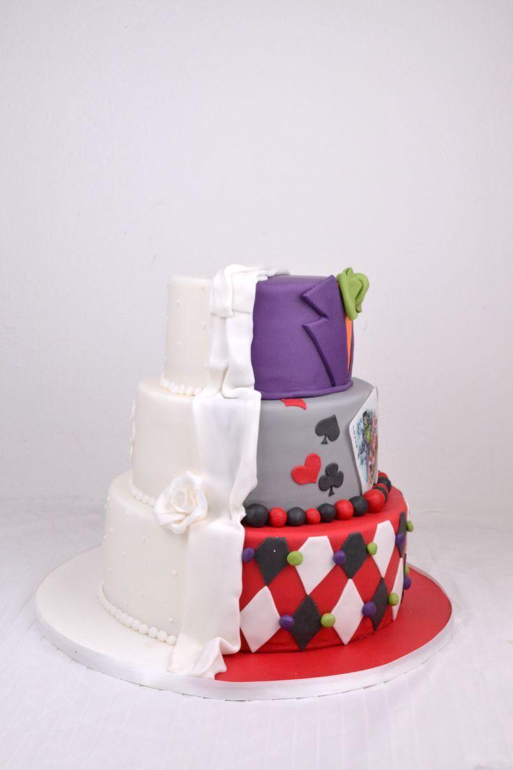Wedding Cakes Hochzeitstorte Weiss Joker Harlequin